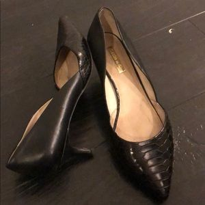 Louis et Cie Kitten Heel Leather